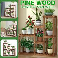 Mutil Tier Plant Stand Home Indoor Outdoor Flower Pot Display Holder Rack Shelf
