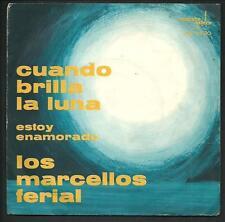 """Los Marcellos Ferial : Cuando brilla la luna - vinile 45 giri / 7"""" - 1963"""