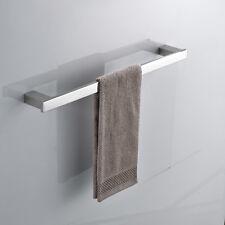 Bathroom Accessories Stainless Steel Towel Rail Rack Storage Holder Chrome