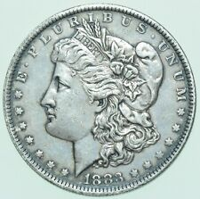More details for usa, morgan dollar, $1, 1883-o, new orleans mint silver coin au