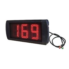 5'' 3Digits Large Tally Counter Countdown/Count Up By Wired Buttons And Remote