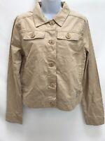 CARHARTT WJ026 LTK Women's Custom Khaki Trail Jacket Size Medium NWT