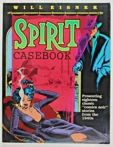 Will Eisner's SPIRIT CASEBOOK SOFTCOVER * 1990 Kitchen Sink Press