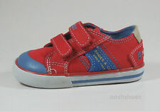 Pablosky niños Red Canvas Entrenadores UK 7 EU 24 nos 7.5 901360