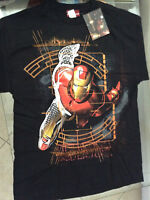 IRON MAN FLYING CONTROL MOVIE T-SHIRT L 42-44)NEW MARVEL(AVENGERS INVINCIBLE 123