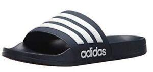 Adidas Mens Adilette Shower Locker Slide Shoe Water Sandal Color Choice AQ17