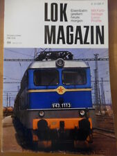 LOK Magazin 84-Mai/Jun 1977 ** MAV-Ellok Ungarn B1 Gladstone Alaska Railroad Rio