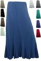 Saloos Silky Lined IT Skirt  Flare Panels 267104