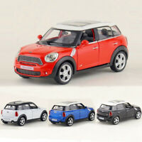 Mini Cooper S Countryman 1:36 Model Car Metal Diecast Toy Vehicle Kids Gift