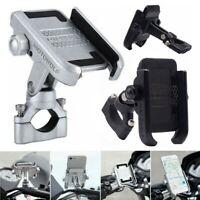 Aluminum Motorcycle Handlebar Universal Bicycle Phone Mount Metal GPS Holder 360