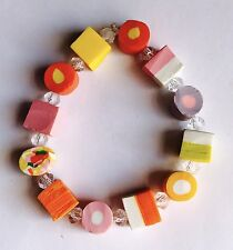 New Retro Chic Fun  Dolly Mixture Crystal Bracelet Version 1