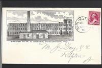 "BURLINGTON,VERMONT,1890,#220 FULL ILLUST ADVT. ""CHILTON PAINT WORKS"""