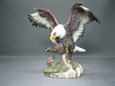 Dekoration  Dekofigur Adler mit Schlange  28 cm  Statue