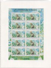 FRANCE 2013.FEUILLE DE 10 TIMBRES NEUF.100 ANS DU SAUT EN PARACHUTE.PA.N°F76
