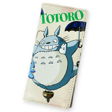 My Neighbour Totoro Umbrella CAT BUS PU Long Wallet Purse Bag Pocket Pounch New