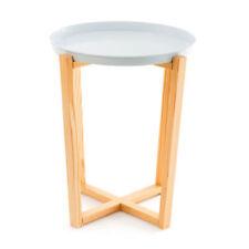 Tables d'appoint modernes en pin pour la maison