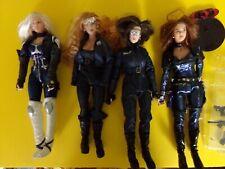 5 loose Cy-Girls / Gi Joe / Action Man Figures