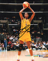 LISA LESLIE SIGNED AUTOGRAPHED 8x10 PHOTO SPARKS WNBA LEGEND RARE BECKETT BAS