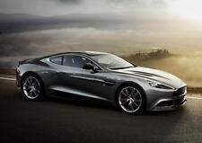 Aston Martin Vanquish A3 Poster