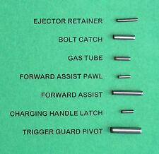 21 ROLL PINS SPIRAL COILED ROLL PINS COMBO PACK--THREE 7-PIN SETS FOR 3 GUNS