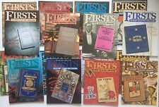 FIRSTS Book Collector Magazine 16 Rare Issues Verne Twain Fleming Rackham London