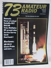 73 Magazine For Radio Amateurs March 1990 HR-2610 Elenco Probe Review