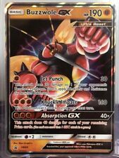 Pokemon Card Buzzwole GX Sm69 Black Star Promo NM
