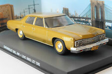 CHEVROLET BEL AIR LIVE AND LET DIE JAMES BOND 007 UNIVERSAL HOBBIES 1/43 FABBRI