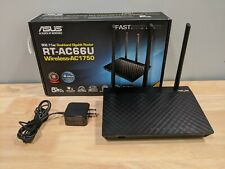 ASUS RT-AC66U B1 AC1750 Dual-Band WiFi Router, AiProtection Security