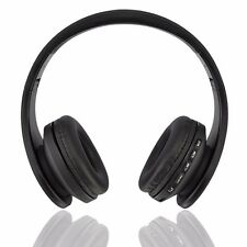 Pliable Wireless Bluetooth Casque Headphone Ecouteur Headset Handsfree+MP3+SD+FM