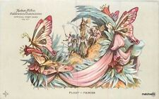 1909 Butterfly Fantasy Hudson Fulton exposition Float Fairies postcard 425