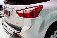 FOR NEW ISUZU MU-X 2014 SUV FITT CHROME LINE BACK REAR TAIL LAMP LIGHT TRIM