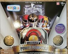 Mighty Morphin Power Rangers The Movie White Legacy Morpher with box and inserts