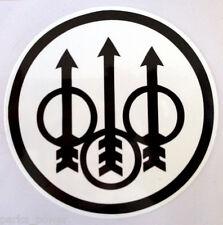 Beretta Sticker, Firearms sticker, Black & White,  decal, car, laptop