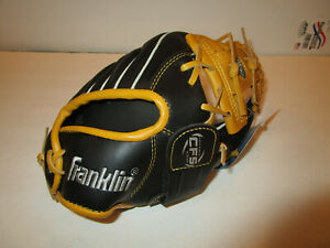 """NWT FRANKLIN 11"""" Tee Ball Glove Baseball Mitt Synthetic Leather Youth Ready NEW"""