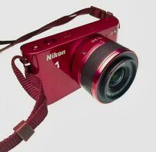 Nikon 1 J1 10.1MP Digital Camera - Red (Kit w/ VR 10-30mm Lens)