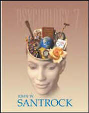 Practice Sheet: Psychology, Santrock, Used; Good Book