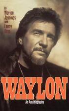 Waylon : An Autobiography by Waylon Jennings and Lenny Kaye (1996, Hardcover)