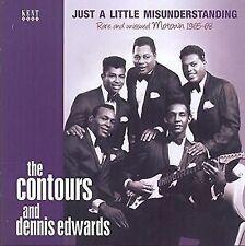 Contours and Dennis Edwards Just a Little Misunderstanding RARE an CD