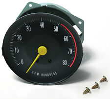 1966 1967 66 67 GTO Dash Tach Tachometer RPM With Rally Gauges Brand New