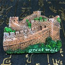 FRIDGE MAGNET TOURIST SOUVENIR FAVORITE Collect 3D-China,Great Wall