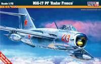MiG-17 PF WARSAW PACT (HUNGARIAN, BULGARIAN, ROMANIAN, GERMAN) 1/72 MISTERCRAFT
