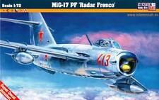MiG 17 PF WARSAW PACT (HUNGARIAN, BULGARIAN, ROMANIAN, GERMAN) 1/72 MASTERCRAFT