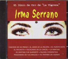EL DISCO DE ORO de la Tigresa IRMA SERRANO CD con sus mejores Exitos NEW Nuevo