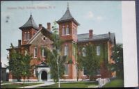 1908 Postcard: Geneva High School - Geneva, New York NY