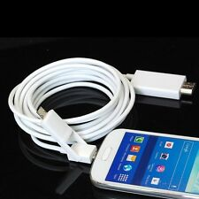 10Ft Micro USB MHL To HDMI HDTV Cable For Samsung Galaxy S3 i9300 S4 i9500 Mini