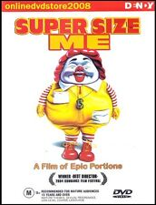 SUPER SIZE ME - Morgan SPURLOCK - McDonald's Food Documentary DVD Region 4
