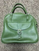 Vintage 60s American Tourister Avocado Green Carry-on Overnight Travel Bag Tote