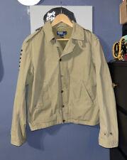 VTG Polo Ralph Lauren Key West Military Tour Souvenir Field Army Jacket Large