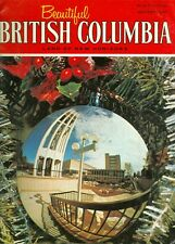 1970 Beautiful British Columbia Magazine Winter: Provincial Museum/Stained Glass